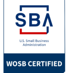 WOSB CERTIFIED U.S. Small Business Administration Logo